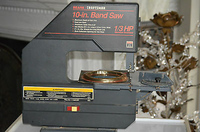 SEARS CRAFTSMAN 10 In Band Saw 1/3 HP with extra blade