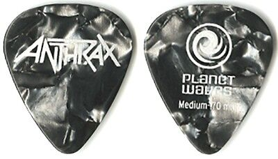 Anthrax  authentic 2011 tour Guitar Pick