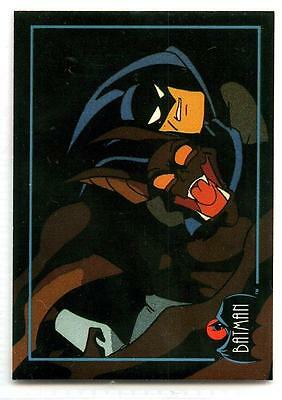 Batman: The Animated Series 1 - Promo (Fighting Man-Bat) - Topps - 1993