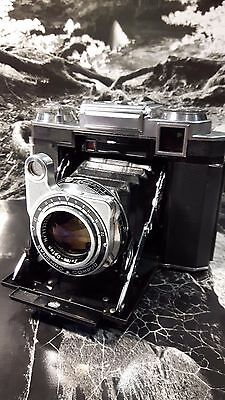 Zeiss Super Ikonta 533/16 With Tessar  Opton lens & case