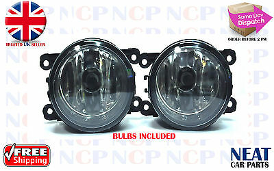 Brand New Ford Transit Mk7 Front Fog Lights Lamps 2006-2013 With Bulbs