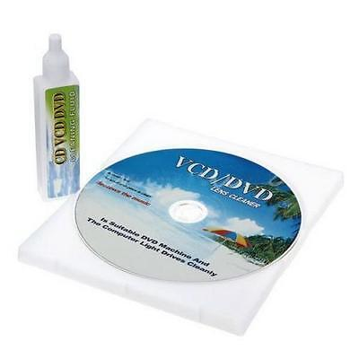 CD/DVD Player Lens Laser + Cleaning fluid Head Dirt Remover Cleaner Restore / ぱ