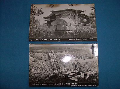 2 House on the Rock Postcards