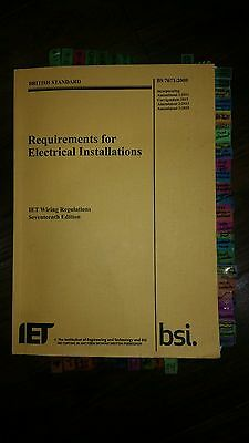 17th edition wiring regs requirements - book ready for exam