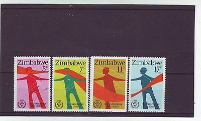 Zimbabwe - Sg602-605 Mnh 1981 Int Year Of Disabled Persons