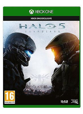* XBOX ONE * NEW SEALED Game * HALO 5 GUARDIANS * Pol Pack