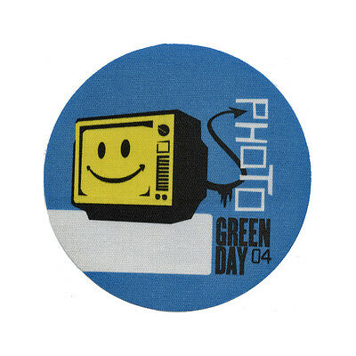Green Day authentic Photo 2004 tour Backstage Pass
