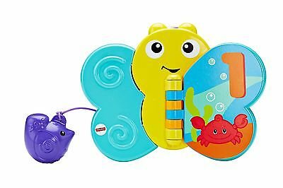 Butterfly Bath Book Learning Toy Fisher Price Toddler Fun Tub
