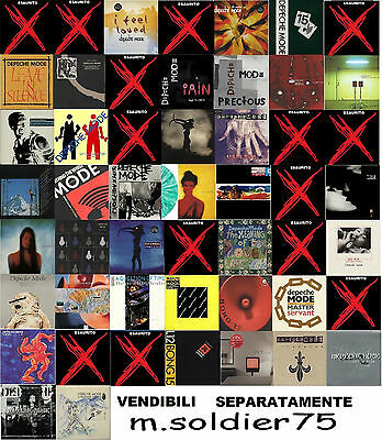 LOTTO SEPARABILE DEPECHE MODE 12 inch Mix no promo no box no limited raro rare
