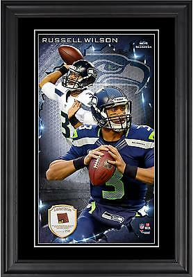 Russell Wilson Seattle Seahawks Framed 10'' x 18'' Photograph with Item#5833315