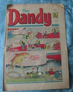 The Dandy  Comic  No 1665 October 20th 1973