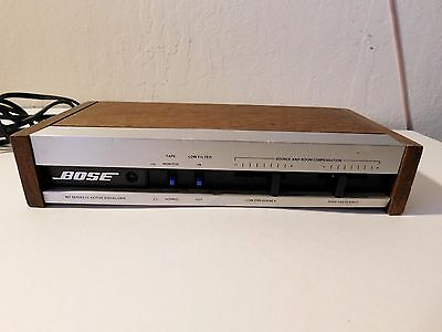 BOSE 901 SERIES-lll/lV ACTIVE- EQUALIZER