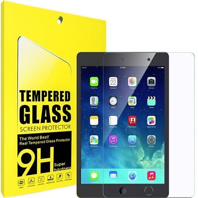 New Genuine Premium Tempered Glass Film Screen Protector For Apple iPad 2 3 4