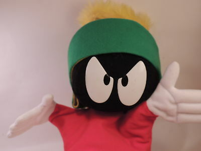 "Vintage Applause Warner Bros 1994 Marvin the Martian Hand Puppet 13"" Plush"