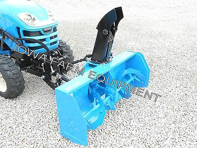 Snow Blower, Front Mounted, PTO Powered LS3150 For LS 'X' & 'XJ' Series Tractors