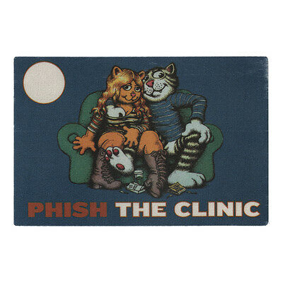 Phish authentic The Clinic * tour Backstage Pass