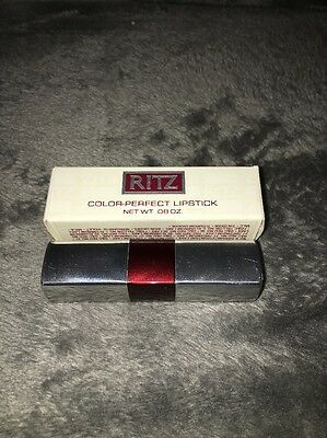 Charles Of The Ritz Color Perfect Lipstick .08oz Rich Red NEW!