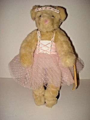 """VINTAGE 1997 VERMONT TEDDY BEAR CO. 14"""" BALLERINA DOLL – EXC! and BEAUTIFUL!"""
