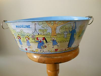 """Madeline Tin Container Bucket Schylling 12"""" Long"""