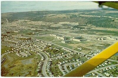 Aerial view showing the new ST. JOHN'S 1970-80s