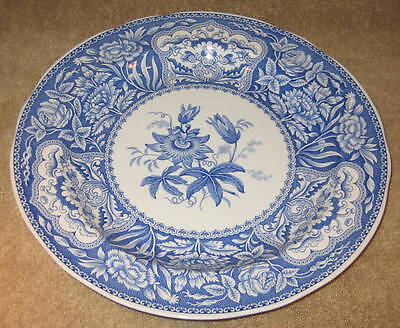 "The Spode Blue Room Collection ""Floral"" Made England Darker Blue in Color"