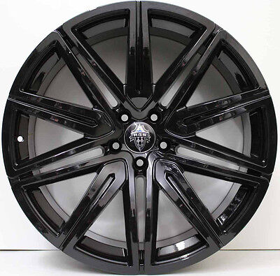 21in GENUINE HRS ALLOY WHEELS TO FIT BENTLEY CONTINENTAL GT & FLYING SPUR BLACK