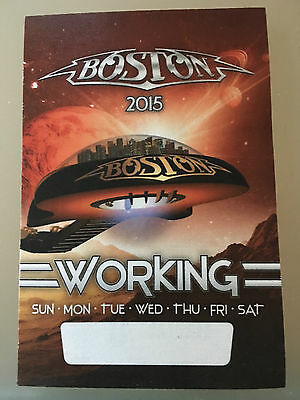 NEW BOSTON 2015 Working Pass in Pristine Condition Never Used