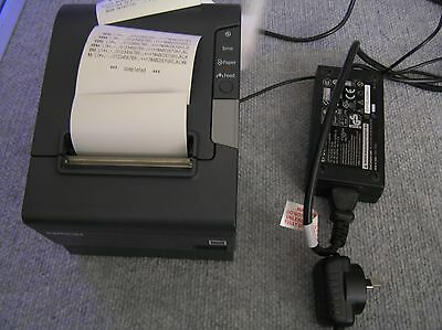 Epson TM-T88V M244A Point Of Sale (POS) Thermal Receipt Printer + Wireless Adapt