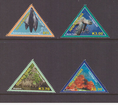 Papua New Guinea 2009 Coral full set mint MNH stamps SG1319-1322