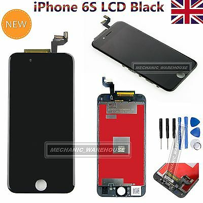 """For Apple iPhone 6S 4.7"""" LCD Display Touch Screen Digitizer Replacement Black UK"""