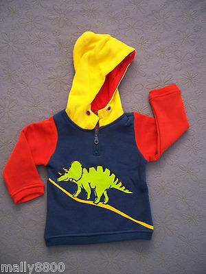 Boys - Deezo - Fleecy Hooded Jumper - Hoody - Size 00, 0, 1, 2