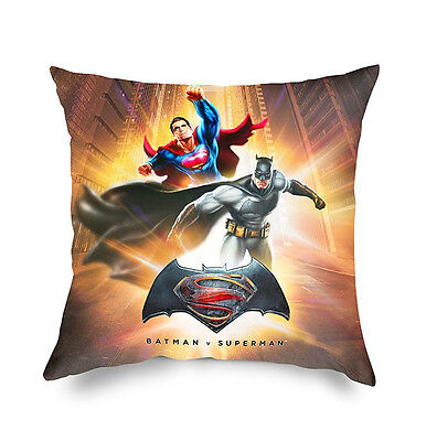 Cuscino Decorativo D'arredo Batman vs Superman 42x42 cm Warner Bros Caleffi