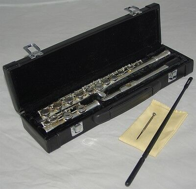 *** XMAS SALE ***  Brand New Bourree Silver Plated Flute