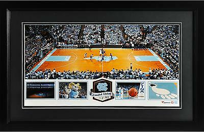 Dean Smith Center North Carolina Tar Heels Framed Panoramic Collage-LE of 500