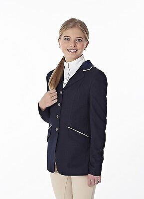 Just Togs Beverley Childs Horse Riding Show Jacket Black or Navy CLEARANCE SALE