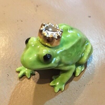 "Hagen-Renaker ""Frog Prince"" Miniature HAGEN RENAKER Made In USA"