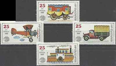 Timbres Transports Bulgarie 3221A/D ** lot 17187