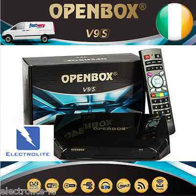Genuine Openbox V9S Satellite IPTV TV Box WiFi+VOD &Next Day Delivery in Ireland