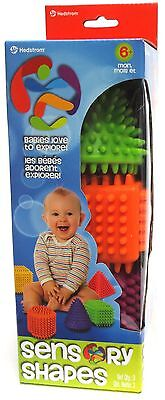 Ball Bounce and Sport Toys Sensory Shapes 3-Pack