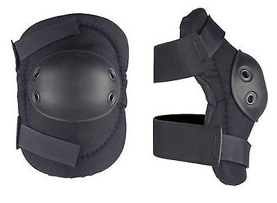ALTA Tactical  Elbow Pads - Flexible Round Black (53010.00)