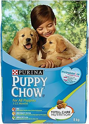 Purina Puppy Chow Puppy Food For All Puppies 8kg