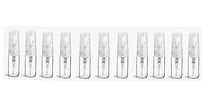 Got Oils? 3ML CLEAR GLASS MISTING SPRAY VIALS (10 Pack)