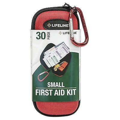 Lifeline 30-Piece First Aid Kit (Red)
