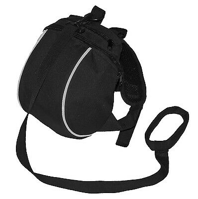 Jolly Jumper 2-in-1 Safety Backpack and Harness Black