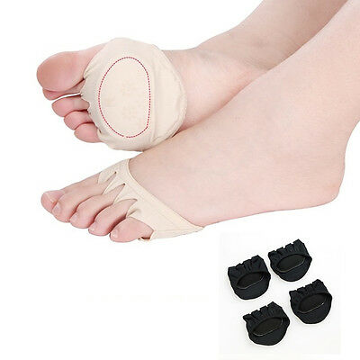 Invisible Forefoot Support Ball Soft Foot Gel Pads Cushions Metatarsal Sore Skin