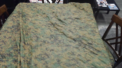 PONCHO LINER Woobie Marpat/Coyote Camouflage blanket throw sleeping bag Marine
