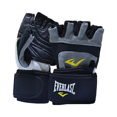 Everlast Leather Weightlifting Gloves
