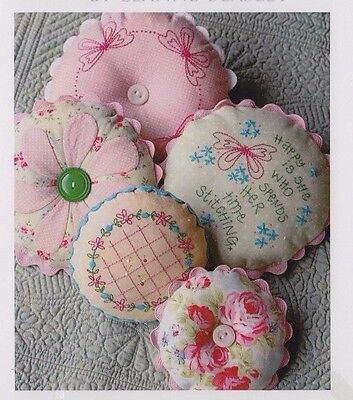 PATTERN - Sarah's Pincushions - pretty sewing accessories PATTERN