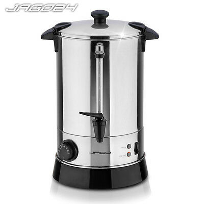 6.8L Electric Catering Hot Water Boiler Tea Urn Coffe Beverages Kitchen 950 W