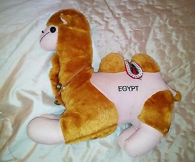 Lovely condition Egyptian camel soft toy 36cm long